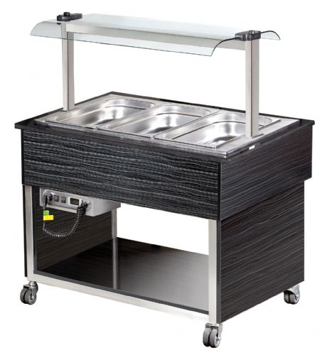 Blizzard BB3-HOT Buffet & Heated Display